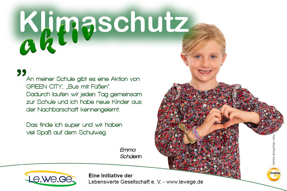 Klimaschutz aktiv Emma